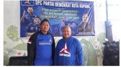 DPC Demokrat Kota Kupang Komit Dukung Jefri Riwu Kore di Musda