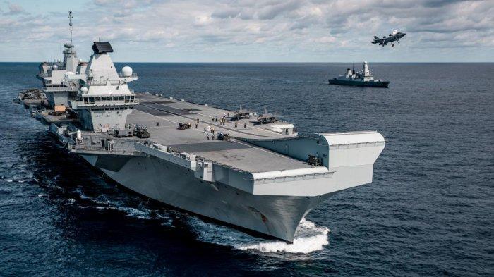 China Beri Peringatan Keras ke Kapal Induk Inggris di Laut China Selatan,Janji Usir Queen Elizabeth