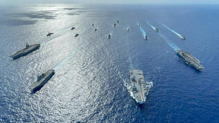 Kondisi Laut China Selatan Usai Kapal AS Rusak, AS Ungkap Strategi Halangi Tiongkok, Bujuk RI Ikut