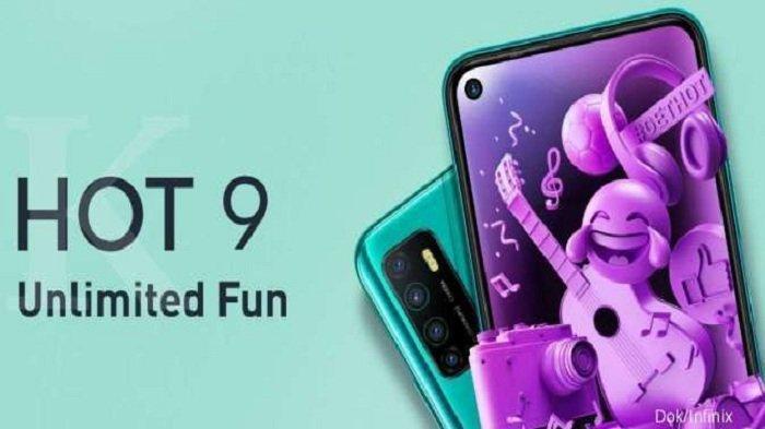 Infinix Hot 9 Dengan 4 Kamera dan Baterai Besar Bisa Bertahan Hingga 4 Hari, Harga Rp 1 Jutaan