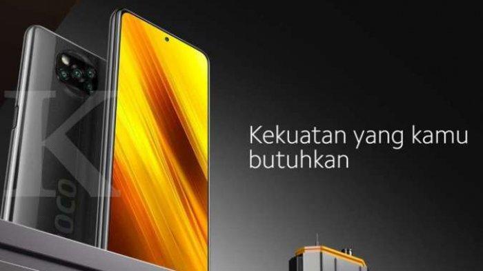 POCO X3 dari Xiaomi Dengan 8GB/128 Sangat Murah Harganya, Hanya Rp 3 Jutaan, Ini Spesifikasinya
