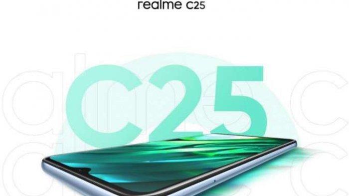 Harga HP Realme C25 Rp 2 Jutaan, Memiliki Baterai 6.000 mAh dengan Fast Charging 18W