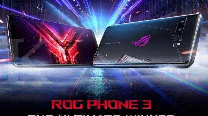 Cek Spesifikasi dan Harga HP ROG Phone 3, Ponsel Untuk Gaming Dengan RAM 8GB dan 12GB