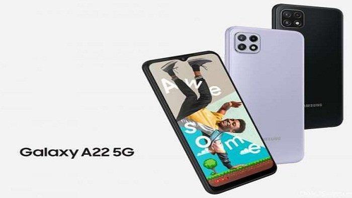 Murah! Harga Samsung Galaxy A22 5G Via Program Flash Sale Rp 3 Jutaan, Ada Bonus Hingga Rp1,4Jutaan