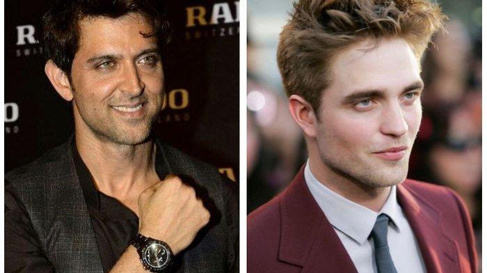Aktor Bollywood Hrithik Roshan Dinobatkan Pria Paling Tampan Sedunia,Kalahkan Robert Pattinson