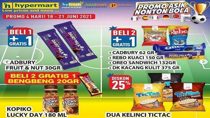 Hypermart 21 Juni 2021 Promo Camilan Enak Nonton Euro : 3 Sedap Cup Goreng Rp10Ribu, CocaColaRp5.500