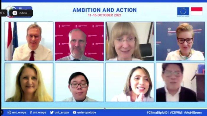 Indonesia dan Uni Eropa Gelar Pekan Climate Diplomacy Week, Ini Tujuan Detail yang Dibahas