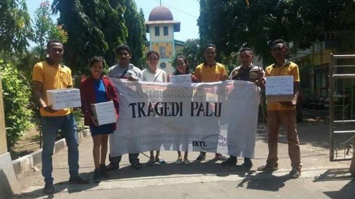 Mahasiswa IKTL Larantuka Terus Menggalang Dana bagi Korban Gempa Palu