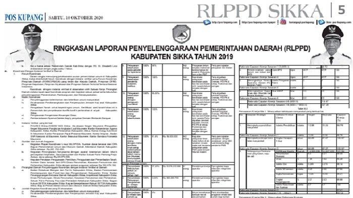 Berikut adalah link ILPPD Kabupaten Sikka 2019, NTT, Simak Rinciannya