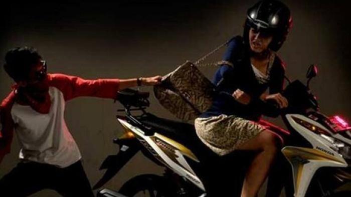 Tim Buser Polres TTU Bekuk Pelaku yang Diduga 'Begal'  Payudara