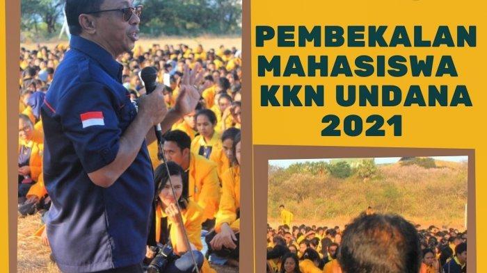 Mahasiswa Undana Kupang Ikut Pembekalan KKN 2021 Secara Daring