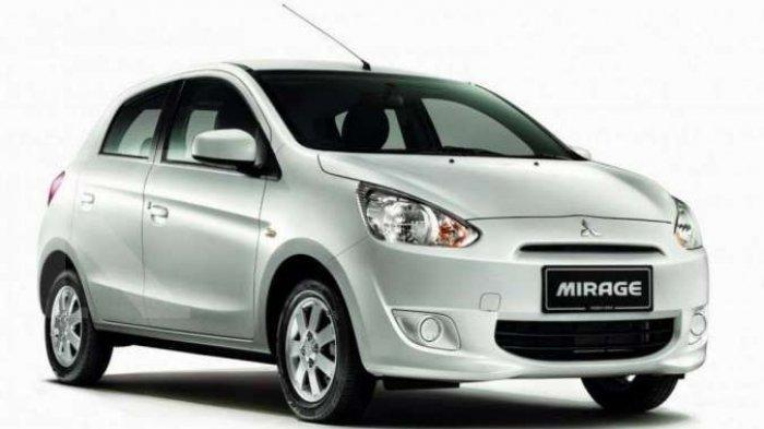 Harga Mobil Bekas Kelas hatchback Mitsubishi Mirage Sudah Murah Rp 65 Juta periode April 2021