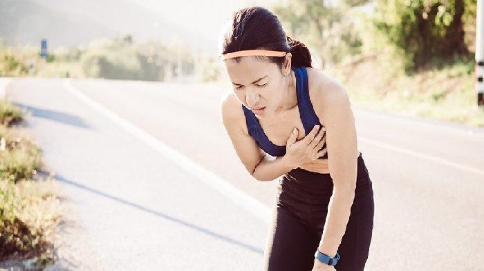 Inilah 6 Gejala Serangan Jantung Saat Olahraga, Keluar Keringat Dingin, hingga Sesak Napas