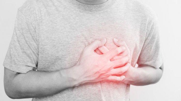 Ilustrasi serangan jantung