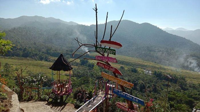 Indahnya Spot Wisata Golo Depet di Kabupaten Manggarai Timur