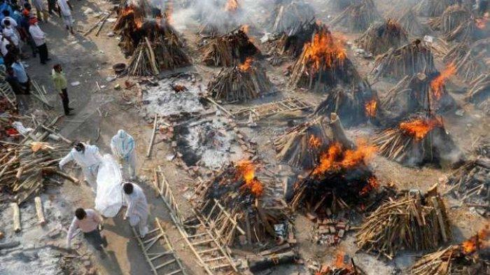 Makin Tak Terkendali, India Catat Lebih dari 4.000 Kematian Akibat Covid-19 dalam 24 Jam Terakhir