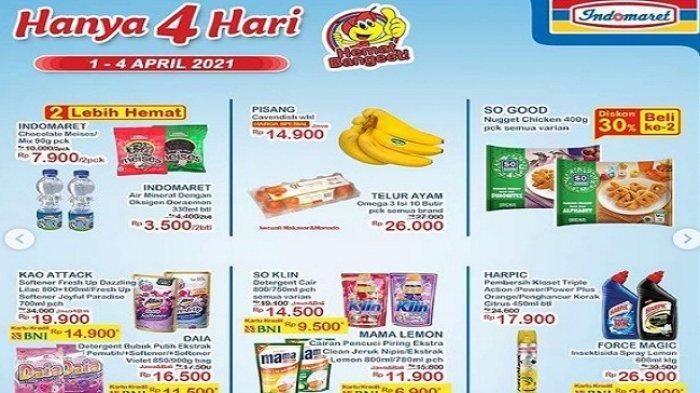 Promo Indonaret Hanya 4 Hari Terbaru 1-4 April 2021, Bimoli Indomie Beras Diapers Turun Harga