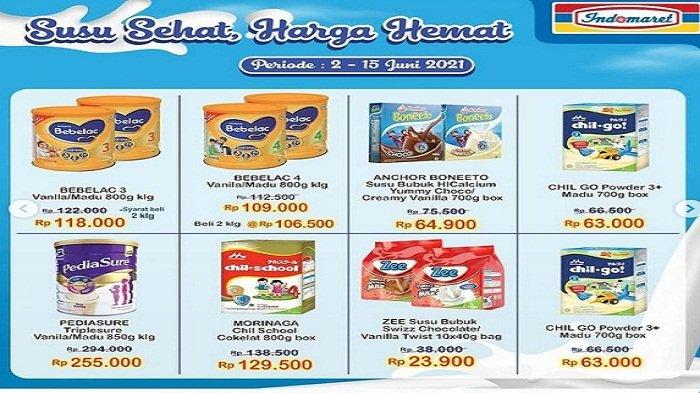 Promo Indomaret Katalog Super Hemat Senin 7 Juni 2021, Tambah 5ribu Dapat 2, Private Label Diskon 5%