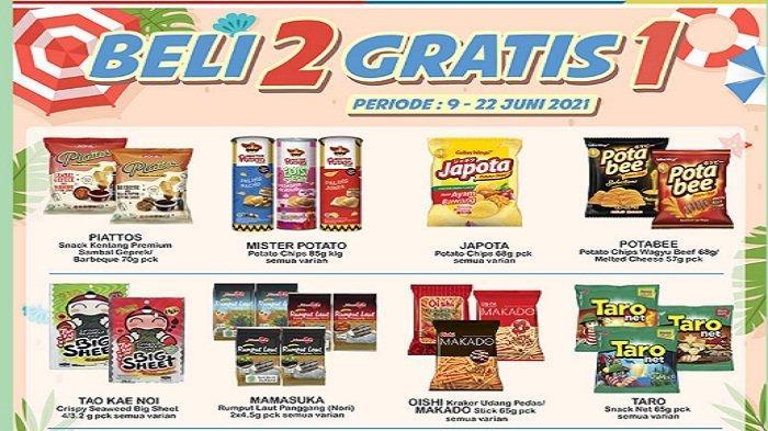 Indomaret Promo Super Hemat Terbaru 16 Juni: Beli2 Gratis1,Beli2 Lebih Hemat, Indomie Rp12.000/5 pcs