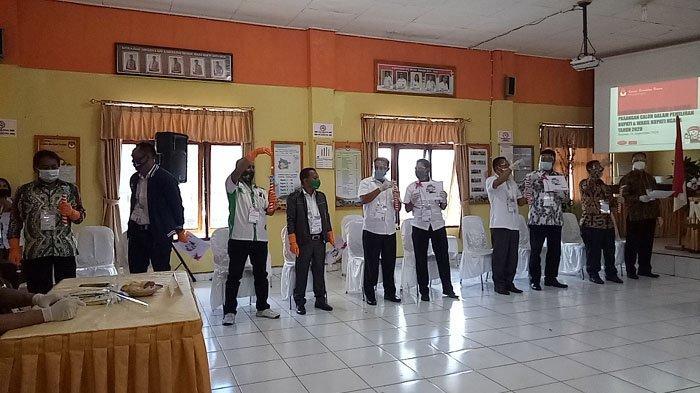 Real Count KPU Pilkada Ngada 10 Desember 2020 Pukul 23.00 Wita, Paru Andreas Unggul Sementara, 27,2%