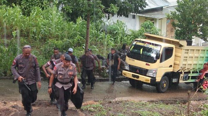 Pasca Pertikaian  Enam Orang Tewas di  Pulau Adonara, Polisi Bawa  Delapan Terduga ke Larantuka