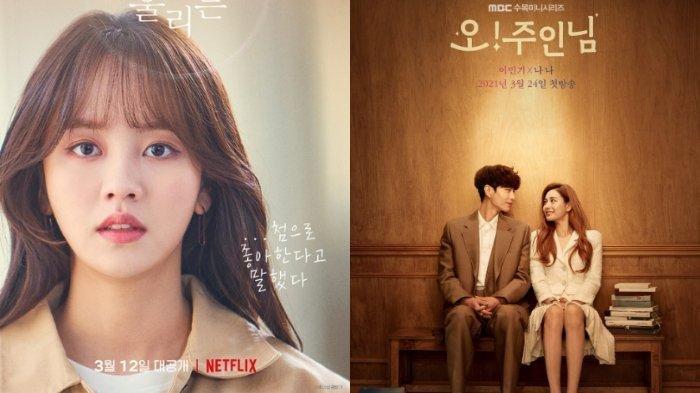 DERETAN DRAMA KOREA yang Tayang Maret 2021, ada Oh My Ladylord dan Love Alarm, Mana Favoritmu?