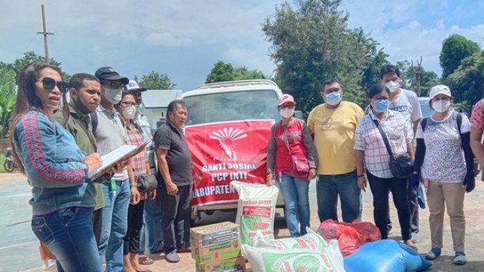Relawan INTI Lembata Mulai Salurkan Bantuan Bagi Korban Banjir Ile Ape - NTT