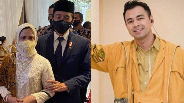 Iriana Jokowi Lakukan Ini Saat Berpapasan dengan Raffi Ahmad, Natizen Langsung Puji: Ya Ampun