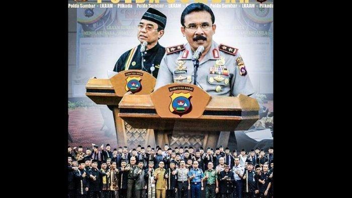 Irjen Pol Fakhrizal Diminta Kembali ke Sumbar, Maju di Pilkada 2020, Ditarik ke Mabes Polri, Info