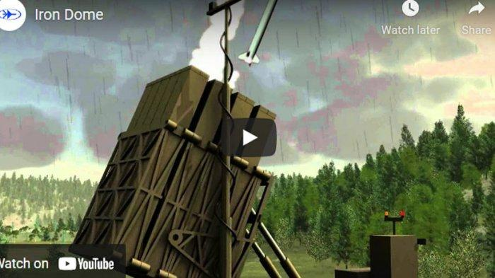 Video Cara Kerja Iron Dome, Senjata Andalan Israel untuk Lumpuhkan Roket Hamas, Siapa Penciptanya?