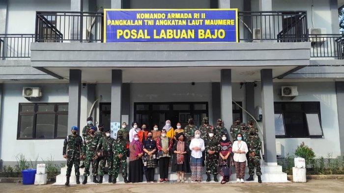 Berkunjung ke Posal Labuan Bajo, Ibu Panglima TNI Minta Anggota Jasa Kesehatan