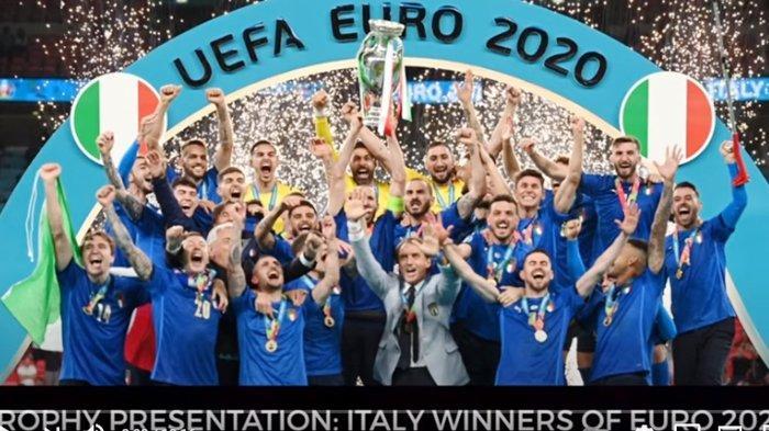 Euro 2020: Kiper Italia Gianluigi Donnarumma Dinobatkan sebagai Pemain Terbaik