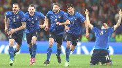 Gli Azzurri Melangkah ke Final Lewat Kemenangan Dewi Fortuna, Ini Skor Saat Adu Penalti vs Spanyol