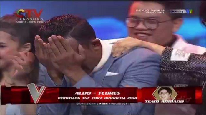 Aldo Longa, jawara The Voice Indonesia