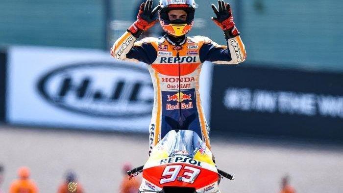 Marc Marquez Juarai Seri 13 MotoGP San Marino 2019, Bagaimana dengan Valentino Rossi?