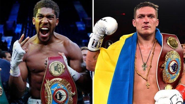 Jadwal Tinju Dunia Akhir Pekan 25 September: Antohny Joshua versus Oleksandr Usyk