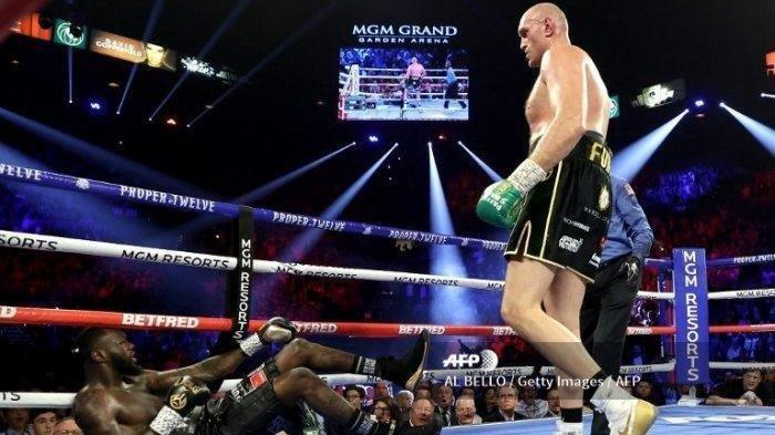 Hasil Tinju Dunia: Tyson Fury Menang KO atas Deontay Wilder, Gypsy King Pertahankan Gelar