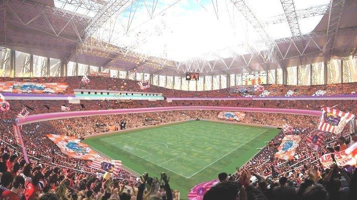 Info Sport : Presiden Klub Persija Jakarta Sabar Tak Gunakan Jakarta Internasional Stadium