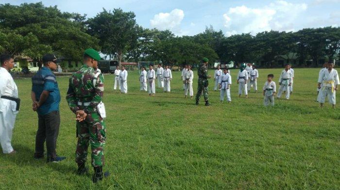 Jaring Atlet Piala Kasad, Kodim Kupang Buka Dojo di Naibonat