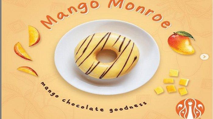 PROMO JCO Hari ini Senin 22 Februari 2021, Donut Varian Baru Mango Monro, Cobaik yuk!