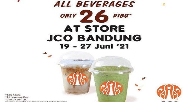 Menu JCO Hari Ini 22 Juni 2021 Promo Weekly Promotion 6 Roti 1 Liter Minuman Rp129 Ribu