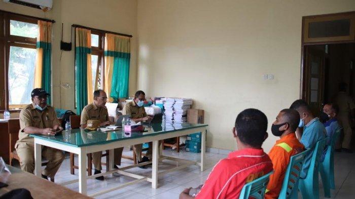 Berkantor di Dinas LHK, Wali Kota Kupang Jefri Riwu Kore : Dinas Tetap Tingkatkan Kinerja