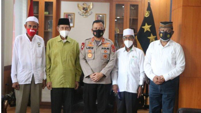 Jelang Hari Raya Idul Fitri, Tokoh Agama Islam Kota Kupang Silaturahmi ke Polda NTT