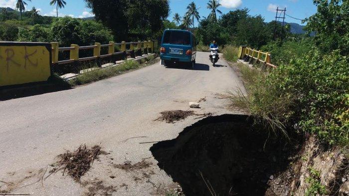 Pemkab Belu Sudah Laporkan Kerusakan Aset Provinsi di Belu Saat Bencana