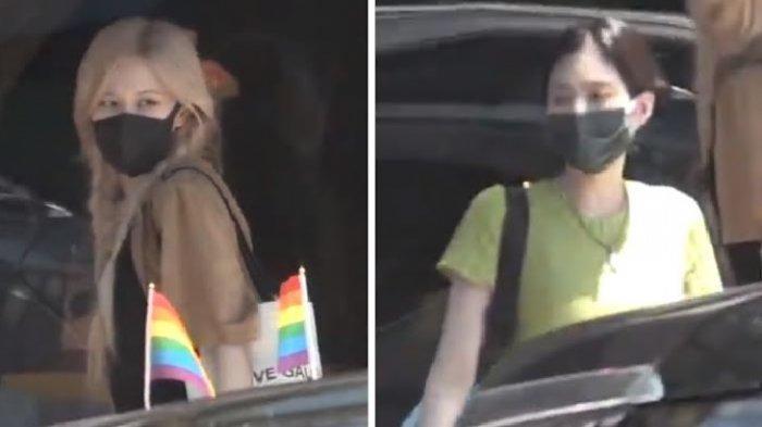 Rose dan Jennie BLACKPINK Terciduk di Los Angeles, BLINK Langsung Berspekulasi, Album Baru?