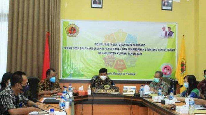 Pimpin Sosialisasi Perbup, Wakil Bupati Kupang Minta Kolaborasi