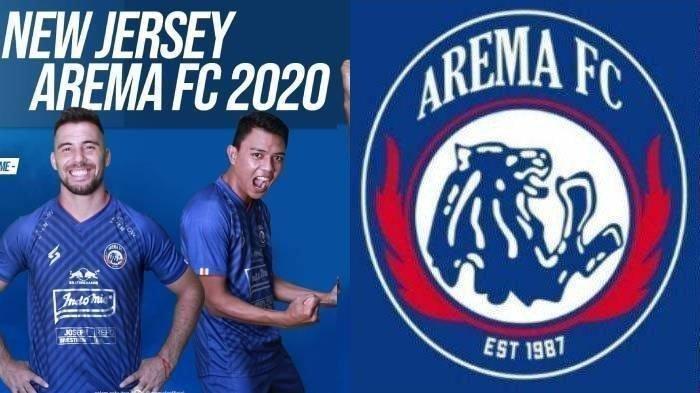 Ilustrasi Jersey Arema FC