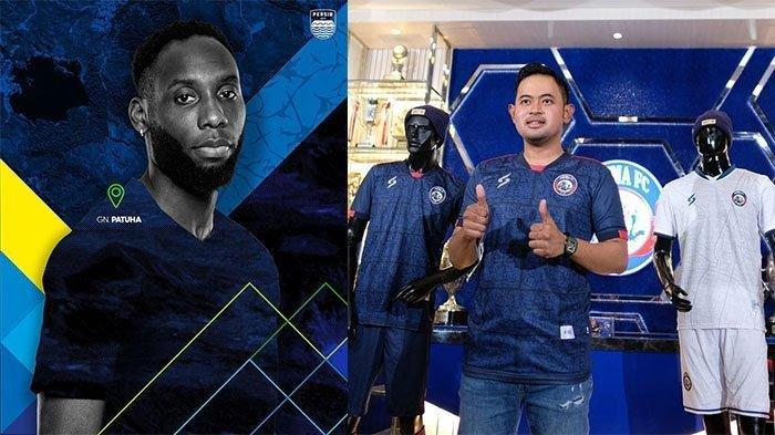 Jelang Liga 1 2021, Persib Bandung Rilis Jersey Baru, Mirip dengan Arema FC?