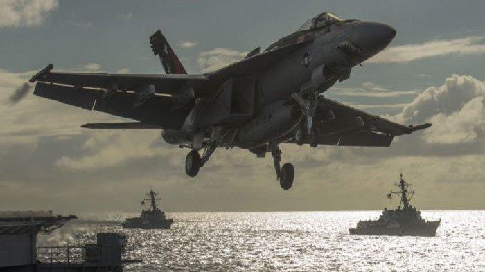 Perang Hebat di Laut China Selatan BakalMengerikan,Tetangga Indonesia JadiPijakan AmerikaLawan China