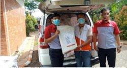 JNE Dukung Pengiriman Bantuan Wahana Visi Indonesia ke NTT